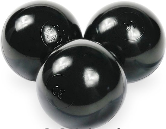 Ballenbak ballen zwart (70mm) voor ballenbak 300 stuks