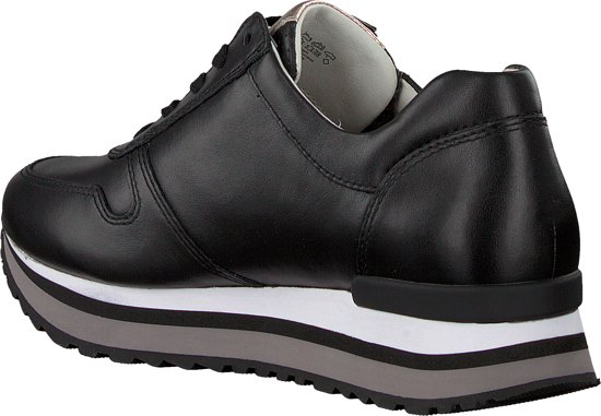 Gabor Dames Lage Sneakers 448 - Zwart