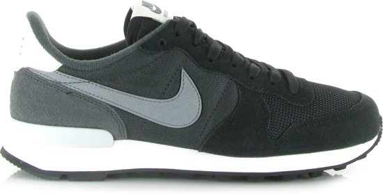 nike internationalist grijs zwart