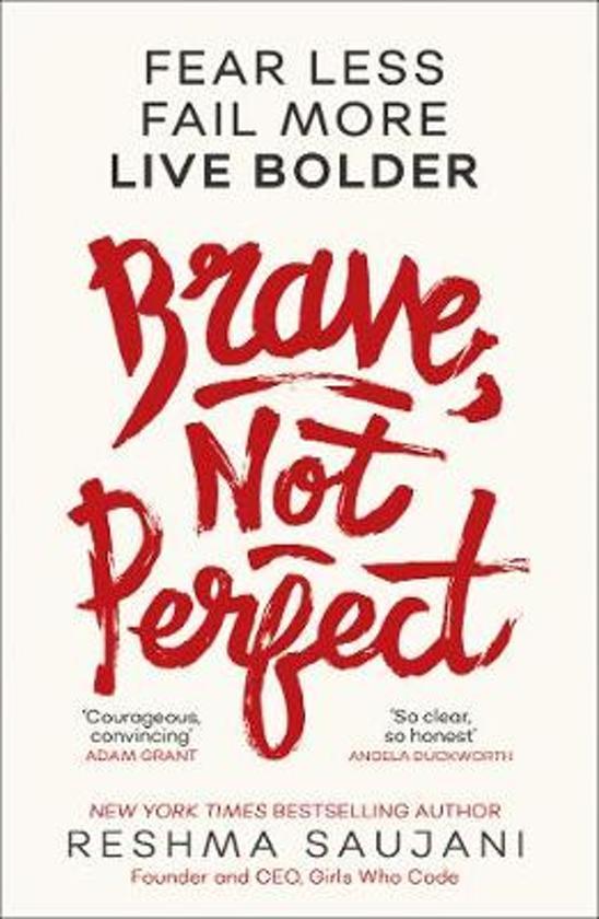 Boek cover Brave, Not Perfect van Reshma Saujani (Paperback)