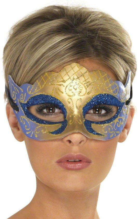 Glanzend Venetiaans masker voor volwassenen - Verkleedmasker