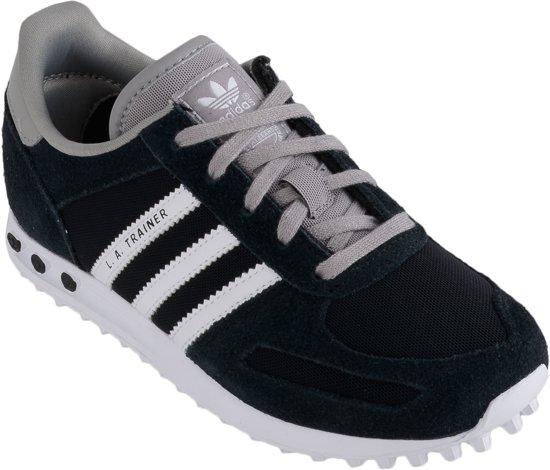 sale retailer 58b41 b51b1 adidas Originals LA Trainer K - Sneakers - Kinderen - Maat 33 - zwartgrijs