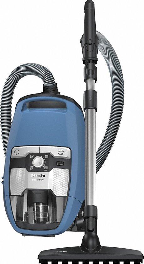 Miele Blizzard CX1 Parquet EcoLine - Stofzuiger zonder zak - Techblauw
