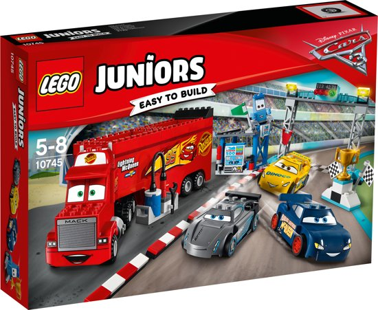 bol lego juniors cars 3 florida 500 finalerace