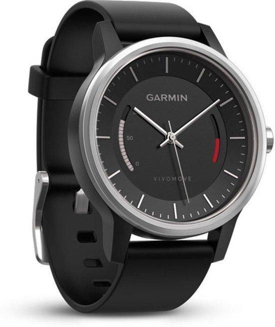 Garmin Vivomove Sport - Activity tracker - Zwart/Titanium