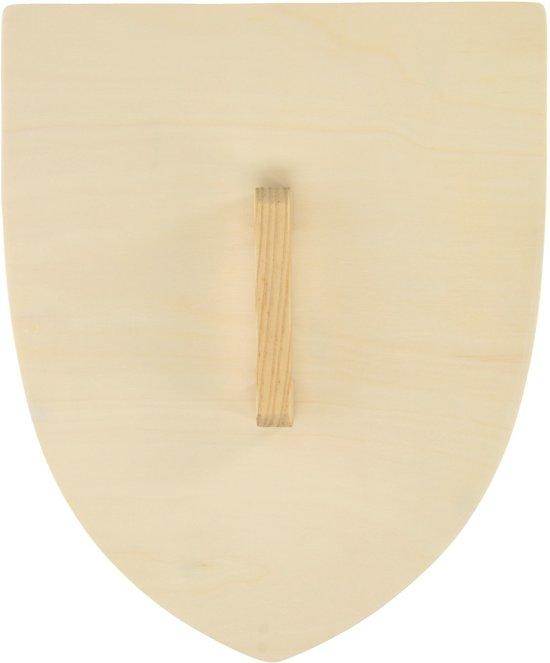 Houten schild blank hout