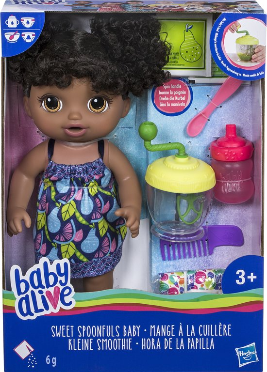 Baby Alive Sweet Spoonfuls Baby Donker