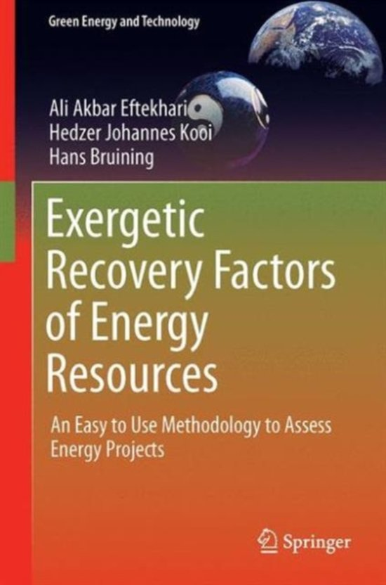Exergetic Recovery Factors of Energy Resources