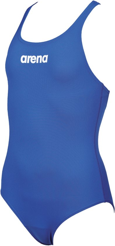 Arena Solid Swim Pro Badpak Junior Badpak - Maat 116  - Meisjes - blauw