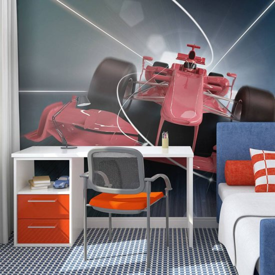 Fotobehang Formule 1.Bol Com Fotobehang Formule 1 Wagen