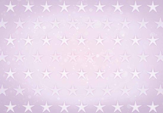 Fotobehang Stars Pattern Purple   XXL - 312cm x 219cm   130g/m2 Vlies