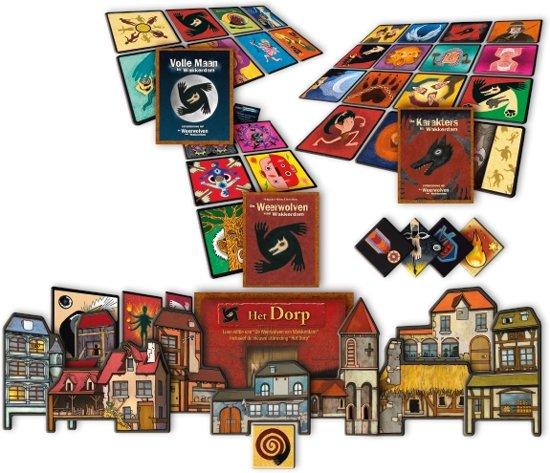 Thumbnail van een extra afbeelding van het spel De Weerwolven van Wakkerdam: Het Pact Bordspel
