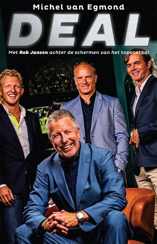 Boek cover Deal van Michel van Egmond (Onbekend)