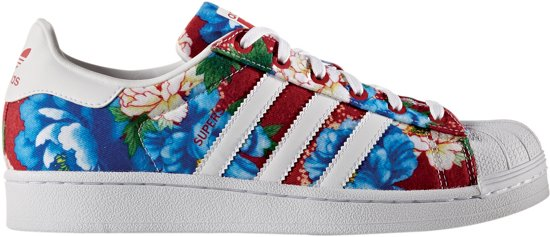 adidas superstar rood dames