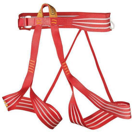 Camp Alp Racing klimgordel rood Maat M