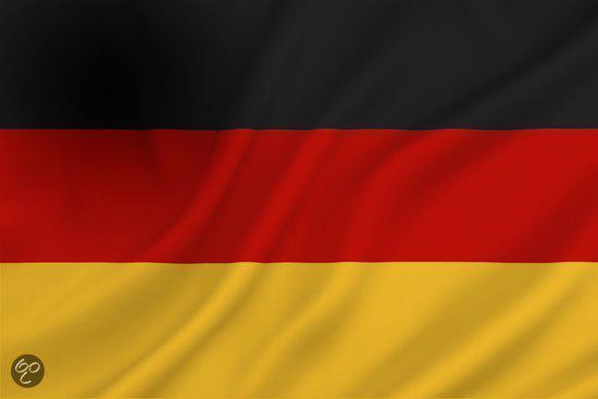 bol   dokkumer vlaggen centrale - duitse vlag - 100 x 150 cm