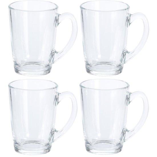 Koffie & Theeglazen - 320 ml - 4 stuks