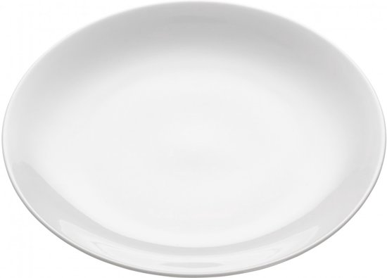 Maxwell & Williams White Basics Round Bord - Ø 23 cm - Wit