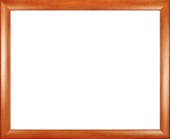 Homedecoration Colorado – Fotolijst – Fotomaat – 46 x 71 cm – Oranje geborsteld