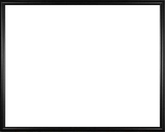 Homedecoration Biggy – Fotolijst – Fotomaat – 57 – 70 cm – Kunststof – Zwart mat