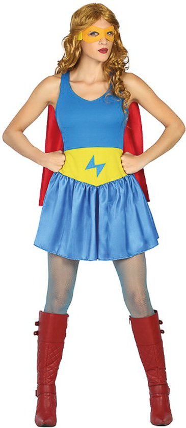 Verkleedkleding voor volwassenen - Sexy SuperGirl