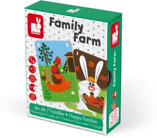 Afbeelding van het spel Janod Spel - geheugenspel - familie boerderij