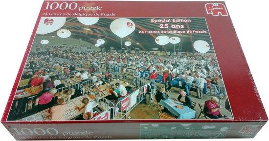 Jumbo - 24 Heures de Belgique de Puzzle - Special Edition - 1000 Stukjes