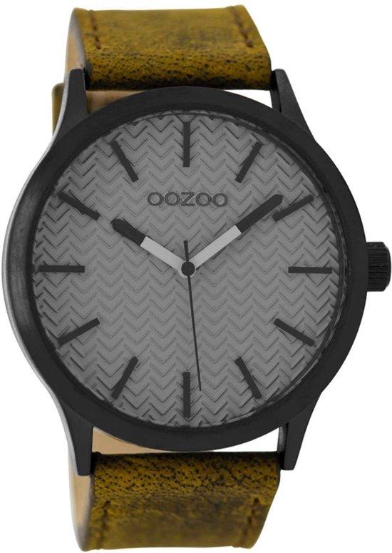OOZOO Timepieces Grijs horloge C9017 (45 mm)