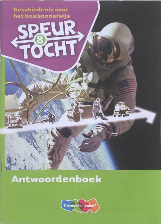 Boek cover Speurtocht Groep 8 Antwoordenboek van Bep Braams (Paperback)