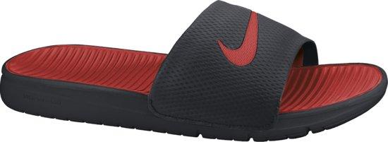 04694aef746 bol.com | Nike Benassi Solarsoft Slide - Slippers - Zwart - Heren ...