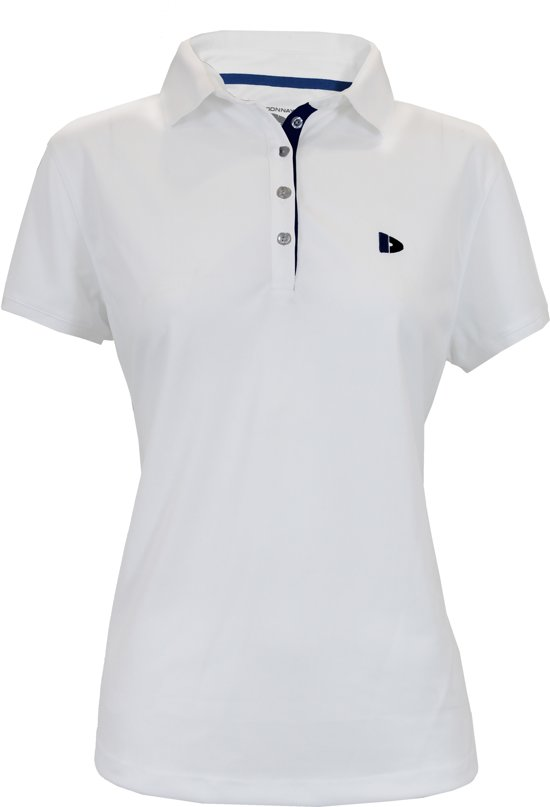 Donnay Cooldry Polo - Sportpolo - Dames - Maat S - Wit