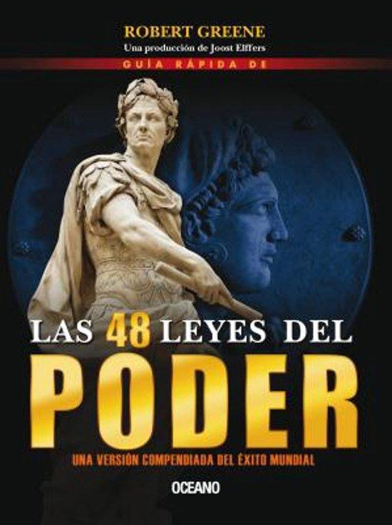 Boek cover Guia Rapida de Las 48 Leyes del Poder van Professor Robert Greene (Paperback)