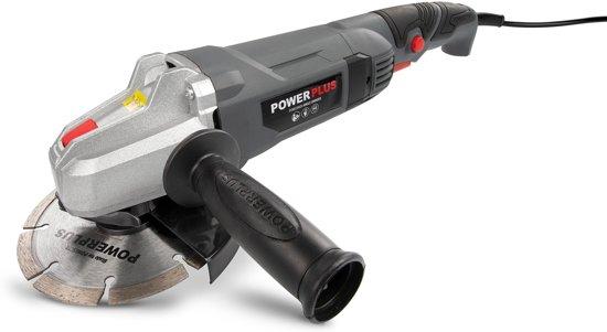 Powerplus POWE20020 Haakse slijper – 900 W – Ø125 mm schijfdiameter