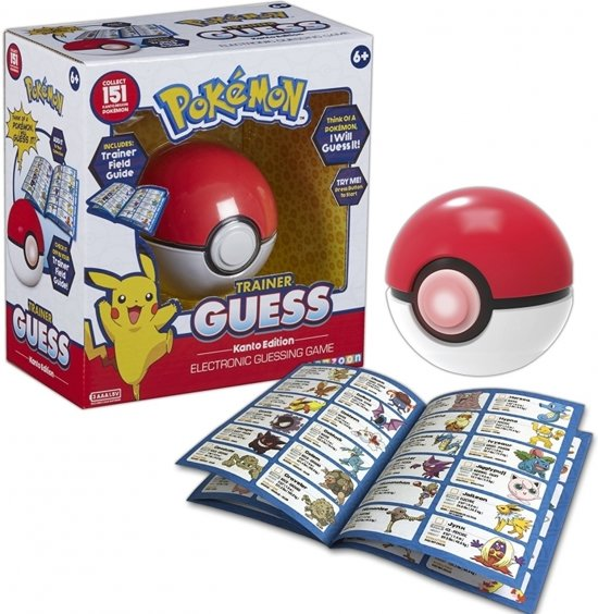 Pokemon Trainer Guess - Kanto Edition