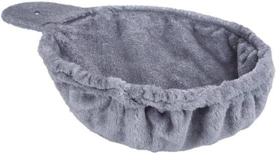 TecTake - Ligmand voor krabpalen 36cm grijs