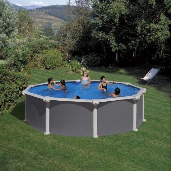 Gre zwembad opzetzwembad borneo 460 rond for Groot opzetzwembad