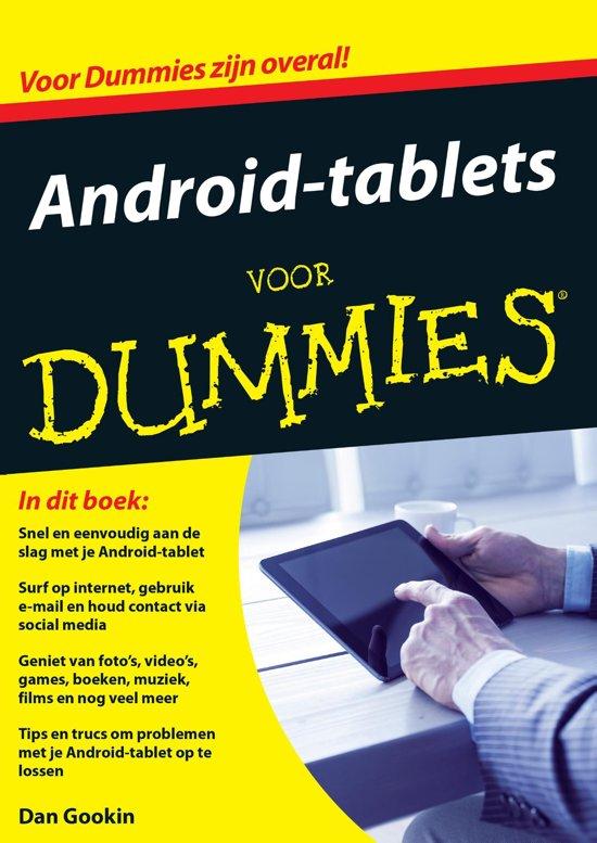 Voor Dummies Android tablets voor Dummies
