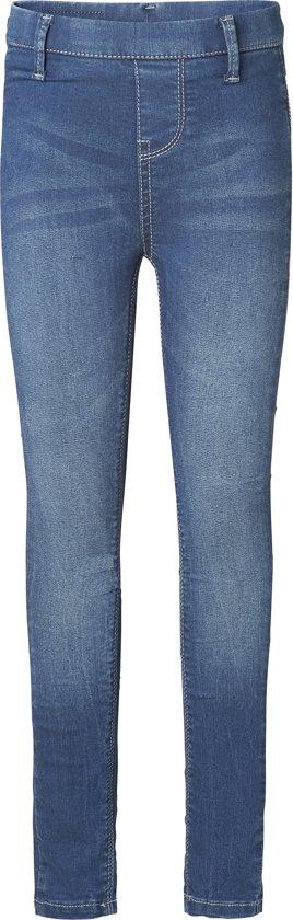 NOP Meisjes Legging - Dark Wash - Maat 134