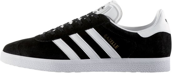 | adidas Gazelle Sneakers Heren Core Black White
