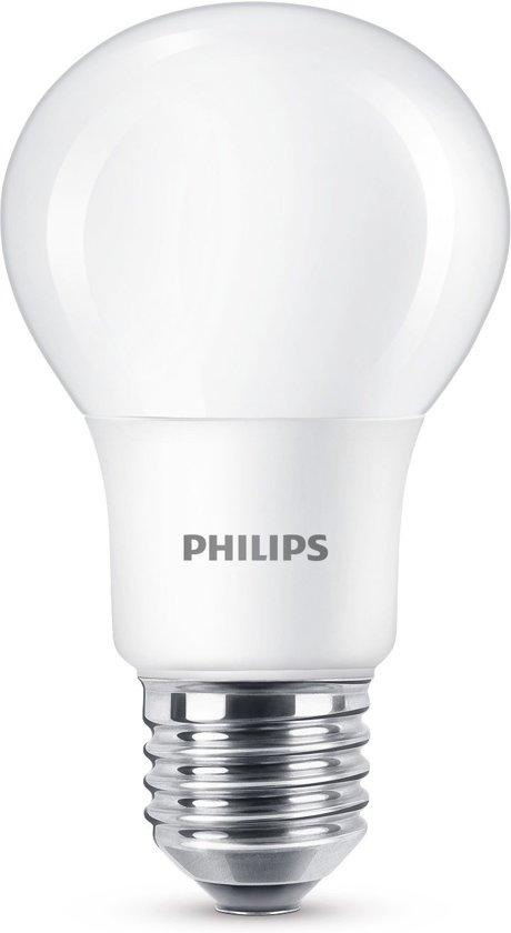 Philips led blister standaard E27 5w/40w mat wgd warmglowdimbaar (707098)