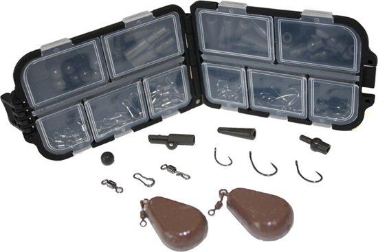 Mijn Eerste Karper End Tackle Set – Rig Knoop Onderlijnenset Onderlijnenmateriaal Karpervissen