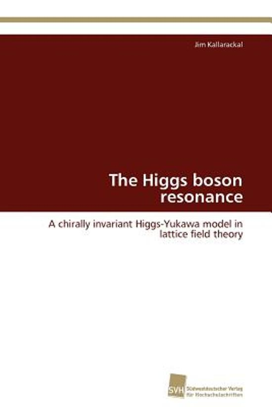 The Higgs Boson Resonance