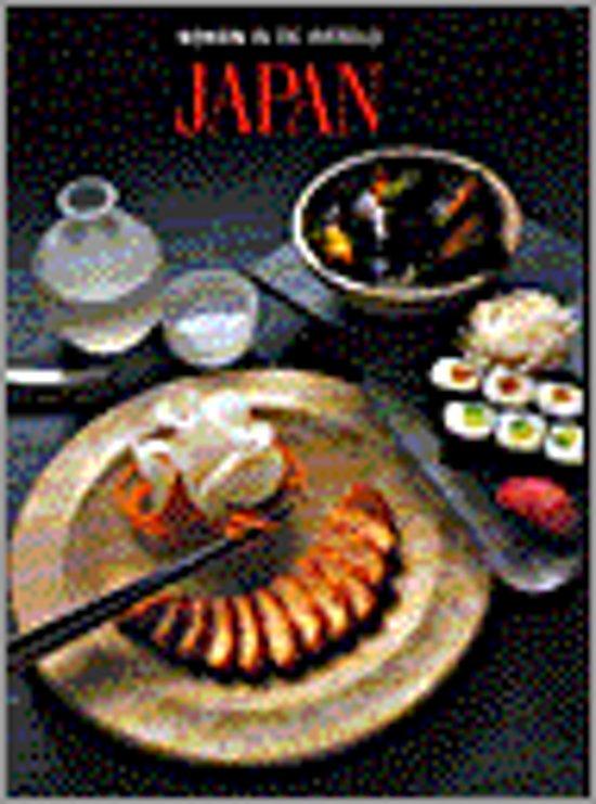 Japan. koken in de wereld