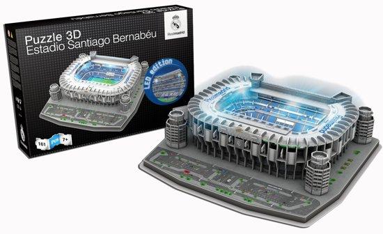 Real Madrid LED puzzel Sant Bernabeu - 160 stukjes