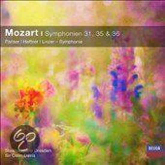 Mozart: Symphonien 31, 35 & 36 - Pariser, Haffner, Linzer Symphonie