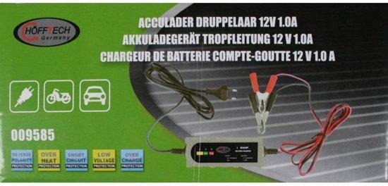 Druppellader 12V 1A