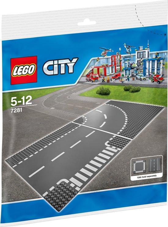 lego city t kruising en bocht 7281 lego speelgoed. Black Bedroom Furniture Sets. Home Design Ideas