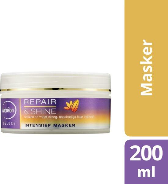Andrélon Deluxe Repair & Shine - 200 ml - 1-Minuut Haarmasker