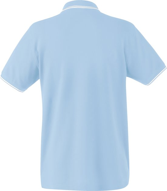 Fruit Of The Loom Polo Tipped Sky Blauw - Wit Xxxl hapdoaWP rBLQ2Unt