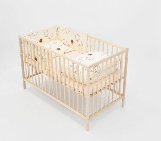 Baby Ledikant Zwart.Bol Com Beddengoed Set 6 Delig Voor 120x60cm Ledikant Zwart